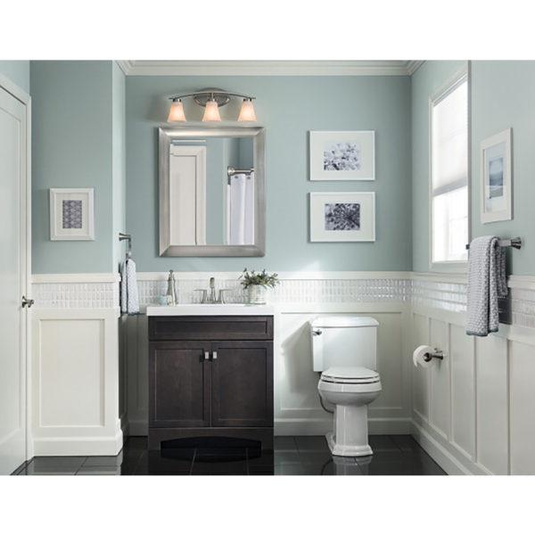 Scott Living Canterbury White Common 36 In X 22 In Single Sink Poplar Bathroom Vanity With